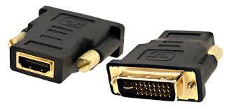 Adaptador DVI macho HDMI hembra