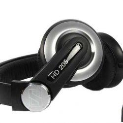 Auriculares Sennheiser HD 205 II DJ negro